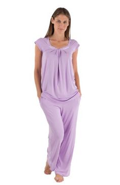 Womens Bamboo Pajamas  Something Special for Me Womens Gifts for Her  0052-OR-L Review