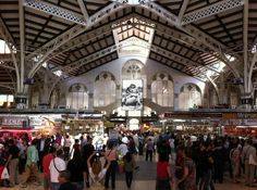 "Attraction: ""Plaza de Mercado"" (Market Hall). A traditional Spanish market– great for eating and site seeing!"