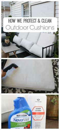 How We Clean Our Outdoor Cushions And Indoor Nesting With Grace Cleaning