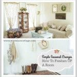 How To Add Shabby Chic Style To Your Home - White Lace Cottage