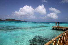 El mar mas maravilloso esta en Cayo Cangrejo, Providencia