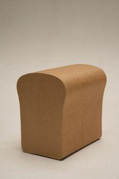cardboard bread