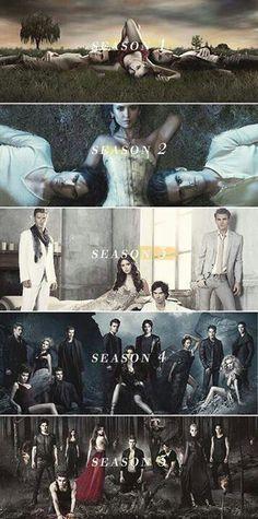 TVD- Season 1-5