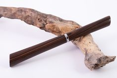 Füller - Füllfederhalter aus Makassar Ebenholz - ein Designerstück von Wood-Writing bei DaWanda