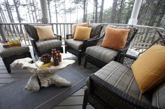 Get inspired by these porches with inviting focal points and picture-perfect design features.