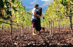Giovanna Lancelotti e Luka Ewbank, na África do Sul (Foto: reprodução/Instagram)