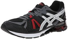 ASICS Mens GelDefiant 2 Training Shoe OnyxSilverRed 9 M US ** Check this awesome product by going to the link at the image.
