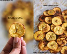 Baked Banana/Plantain Chips Recipe