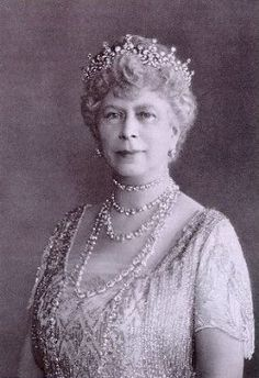 ...  the tiara had originally been given to Princess Mary of Teck (later Queen Mary) as a wedding present in 1893 by a committee started by Lady Eve Greville. Description from monarchistleagueoftwo.blogspot.com. I searched for this on bing.com/images
