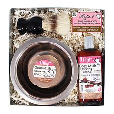 O My! Vanilla Dreams Goat Milk Starter Shaving Kit