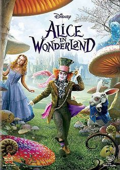 """Tumble down the rabbit hole with Alice for a fantastical new adventure from Walt Disney Pictures and Tim Burton. Inviting and magical, ALICE IN WONDERLAND is an imaginative new twist on one of the mo"