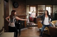 Cobie Smulders and Alyson Hannigan  Robin and Lily  How I Met Your Mother  Season 9