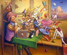 Por Amor al Arte: Tom Sętowski uno de los mejores artistas del surrealismo polaco.