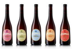 Packaging design by NB Studio for British cider maker Aspall Smart Packaging, Beer Packaging, Packaging Solutions, Beverage Packaging, Brand Packaging, Packaging Design, Brand Identity, Branding, Label Design
