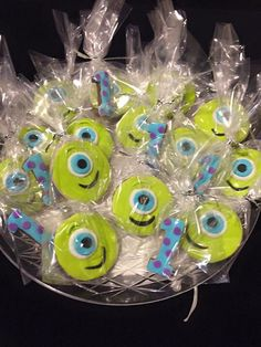 Monsters inc – cookies – Lace Wedding Cake Ideas Monster 1st Birthdays, Monster Inc Party, Monster Birthday Parties, 3rd Birthday Parties, Birthday Cakes, Princess Theme Birthday, 1st Boy Birthday, Monsters Inc Cookies, Monsters Inc Baby Shower
