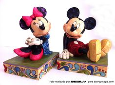 Sujetalibros Mickey y Minnie Mouse Disney Traditions reggilibri  bookends