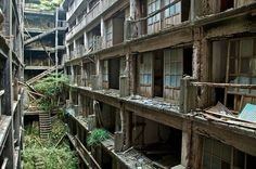 Gunkanjima, the abandoned island
