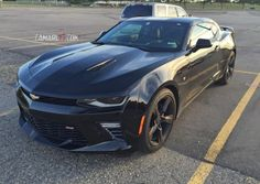 Great look at the 2016 Chevy Camaro in black – Camaro6 – 6th ...