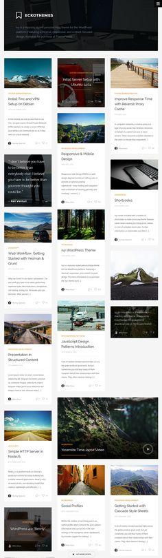 #Printrest Style Premium #WordPress Theme #website #design