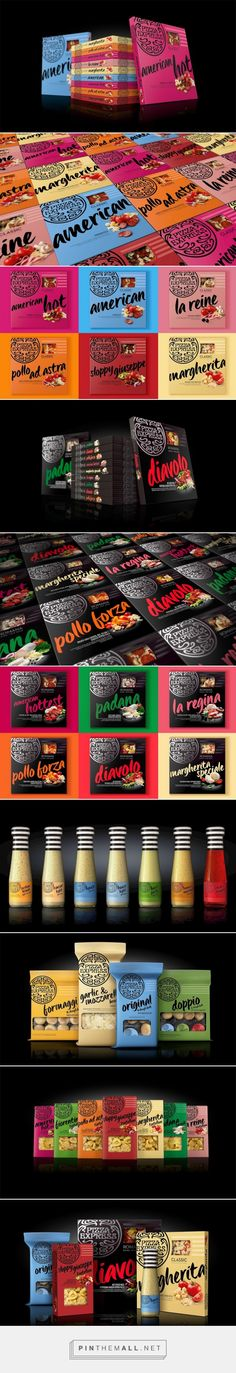 PizzaExpress - At Home - Packaging of the World - Creative Package Design Gallery - http://www.packagingoftheworld.com/2016/05/pizzaexpress-at-home.html
