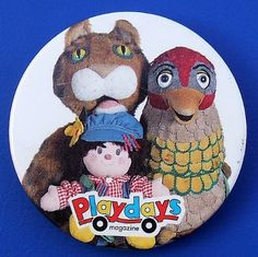 Nostalgic TV favourite from Childrens BBC in the 80s and 90s. With Zoe Ball, the Why Bird, Peggy, Poppy, Dot, Humphry, Lizzie, Wobble and Mr. Jolly. CBeebies Grown-ups love this!
