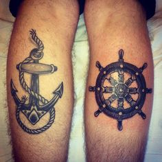 tatouage marin ancre bar
