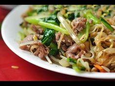 Pho Bo, Japchae, Meals, Cooking, Ethnic Recipes, February, Youtube, Stir Fry Rice, Noodles