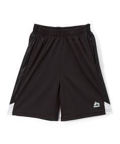 Look what I found on #zulily! Black Sport Shorts - Boys #zulilyfinds