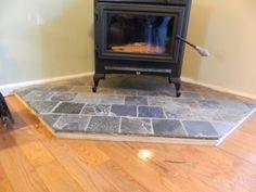 woodstove surround | value vs. K=factor Hearth pads (hardwood floor, Home Depot, heat ...