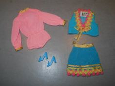 Vintage 1970 Barbie Gypsy Spirit Outfit #1458