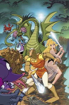 14 Best Dragon's Lair/Space Ace images in 2016 | Dragon's