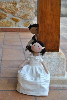 muñecoa de Comunión. | Aprender manualidades es facilisimo.com
