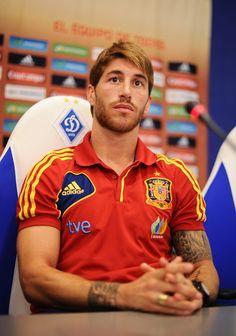 Sergio Ramos Photo - Spain Press Conference - UEFA EURO Final 2012
