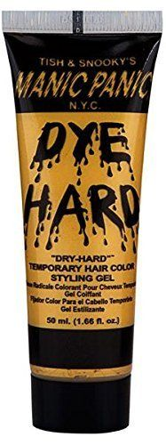 Glam Gold Dye Hard Manic Panic Styling Gel 1.66 oz. *** This is an Amazon Affiliate link. Visit the image link more details.