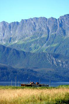 Abandoned Barge - Valdez, Alaska