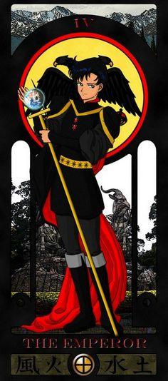 emperor sailor moon tarot