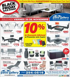 Black Friday Patio Gallery