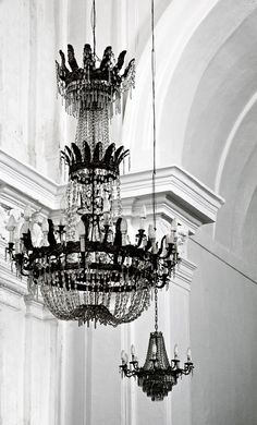 Chandelier, Sicily, Italy