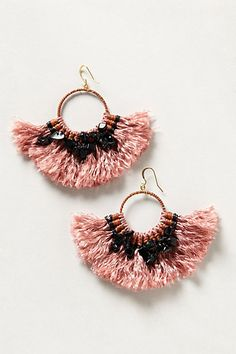 tassel earrings - Anthropologie