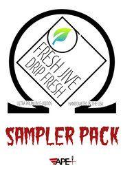 Fresh Jive E-Juice 5-Pack Sampler - 5x30ML 150ML for $45