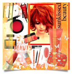 """Sunkissed"" by yishdelish ❤ liked on Polyvore featuring beauty, MAC Cosmetics, Oribe, Christian Dior, Sisley, LeSportsac, Clarins, Mason Pearson, Gucci and NARS Cosmetics"