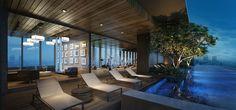 Luxury new condo development in Bangkok. The Lofts Ekkamai.