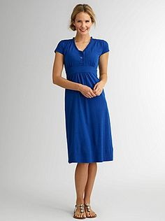 Cap Sleeve Ruffle Dress...shadeclothing.com...would love this in a longer length!