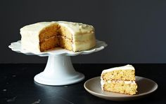 Carrot Cake with Cardamom Recipe