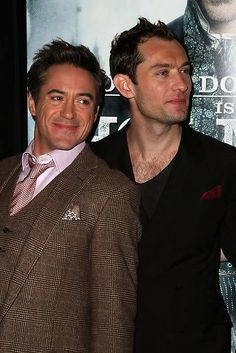 "Robert Downey Jr. and Jude Law, ""Sherlock Holmes"""