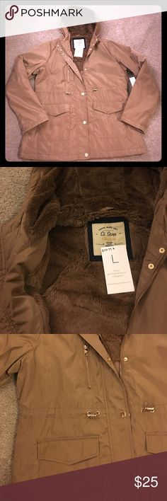Brand New Jacket! Brand new jacket purchased from an online boutique. NWT. Inside of hood is ridiculously soft! Size large. Jackets & Coats
