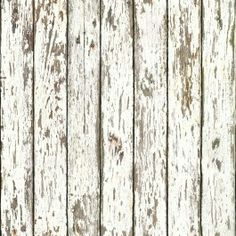 Faux wood wall paper