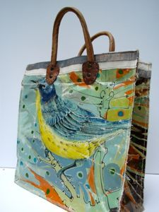 want.  upcycled oil paintings from Swarm
