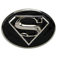 e9767156ea8 Amazon.com  Superman 3d Black and Silver Finishing Belt Buckle for Men  Wonder Woman