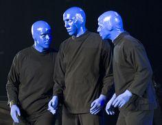 The Blue Man Group entertains BJC crowd